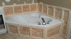 how to tile around bathtub installing wainscoting around bathtub in master bathroom subway tile bathtub walls