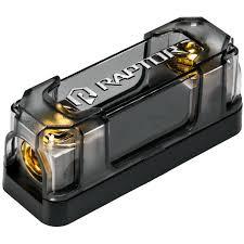 raptor r51anl satin nickel plated anl fuse holder anl fuse block at Anl Fuse Box