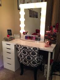 diy hollywood vanity mirror with lights. vanities: hollywood vanity table with white lighted mirror and style amazon diy lights s