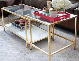 Marvelous ... Glass Gold Coffee Table I Simply Wonu0027t Ever Be Able To Look At It ... Nice Ideas