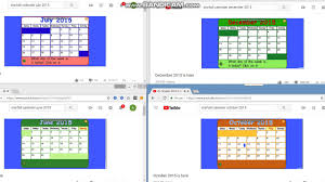 Calendar 2015 June July Starfall Calendar July December June October 1 2015 Youtube