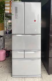 Tủ lạnh 6 cánh TOSHIBA GR-E47F date 2012... - ĐIỆN MÁY NHÂN TÂM - Chuyên  Hàng Nhật Bãi