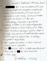 Lab Notebook Example Sample New Lab Notebook Pages Produced This Week By Usamriid From