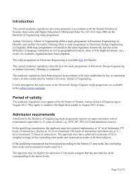 Electronics Design Engineer Courses Academic Regulations For The Electronic Design Engineer
