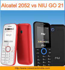 Alcatel 2052 vs NIU GO 21 : Comparison ...