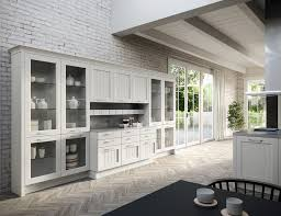 Traditional kitchen / stainless steel / solid wood / island ...