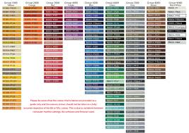 Powder Coat Ral Chart 59 Unexpected Ral Chart Colours