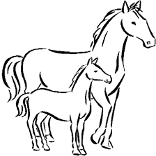 Small Picture Modest Horse Coloring Pages Best Coloring Page 125 Unknown
