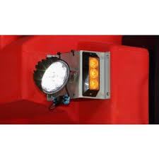 spreader parts 99766 strobe light kit set for western tornado fisher poly caster