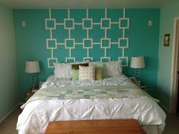 16 bedroom wall decor ideas using patterned fabric and styrofoam