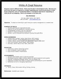 How To Make A Proper Resume Free Sample Download Essay And