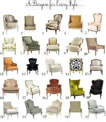 chair styles and names best french chairs images on style fabulous liveable 7