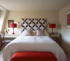 Amazing Red Accents In Bedrooms U2013 34 Stylish Ideas : Red Accents In Bedrooms  34 Stylish Ideas With White Wall Bed Pillow Blanket And Red Chair Lamp And  ...