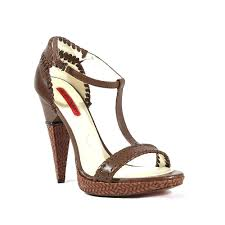 details about 740 cesare paciotti womens brown high heel leather platform sandals