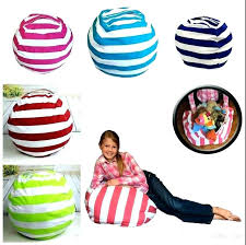 bean bag storage inch kids bags plush toys beanbag chair bedroom stuffed animal room extra large