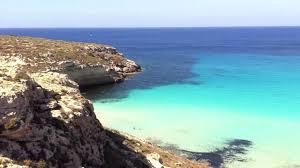Rabbit Beach Lampedusa Islands Of Sicily