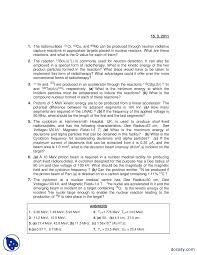 accelarator cyclotron fundamental of physics assignment plus   the document