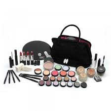 sbc make up kit in stylish kit bag