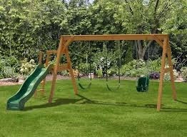swing set plans building a toddler playground sets