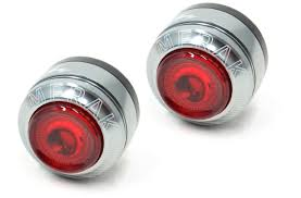 Moon Merak Bar End Rear Cycle Lights Moon Merak Rear Bar End Lights