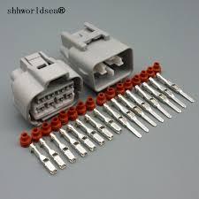 shhworldsea 8pin automotive electric housing plug wire harness shhworldsea 8pin automotive electric housing plug wire harness female male connector plug 90980 10897 90980