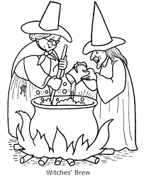 Small Picture Scary Halloween Coloring Pages Bestofcoloringcom