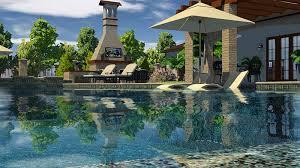 3d swimming pool design software. Professional Pool Design Software With Outdoor Fireplace 3d Swimming F