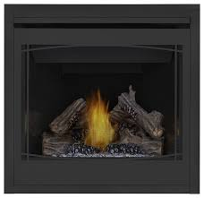 napoleon b36 ascent mv fireplace porcelain panels zen front natural gas transitional indoor fireplaces by chimney