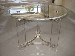 image of round glass nesting tables