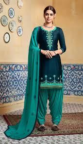 Punjabi Suit Color Combination