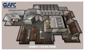 new locker rooms at afc fitness in bala cynwyd