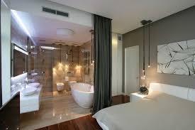 modern bedroom with bathroom.  Bedroom 25 Sensuous Open Bathroom Concept For Master Bedrooms  Pinterest  Bathroom Bedroom And Modern Bedroom With D