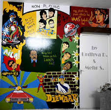 Find high quality printed bollywood posters at cafepress. Bollywood Wall Painting On Behance