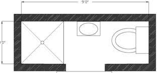 Best 25 Small Narrow Bathroom Ideas On Pinterest  Narrow Small Narrow Bathroom Floor Plans