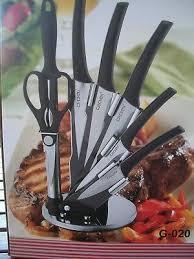 Set De Couteaux De Cuisine Professionnel Design 8pcs En Inox Eur