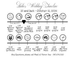 Timeline Templates Wedding Timeline Template Wedding Day