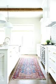blue accent rug marvelous rustic kitchen rugs regarding area