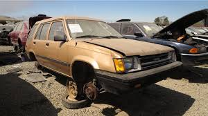 Junkyard Find: 1986 Toyota Tercel Station Wagon - The Truth About Cars