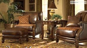 aico living room set. windsor court leather living room collection from aico furniture - youtube set n