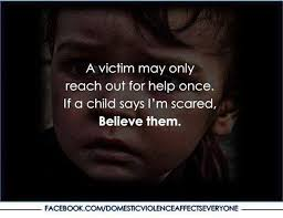 Quotes About Child Abuse Don't dismiss a child's voice just because it's a child's voice 91