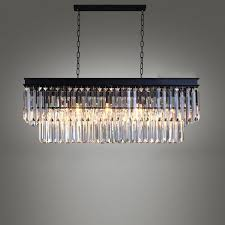 details about luxury clear crystal ceiling lamp retro country chandelier fixture pendant light