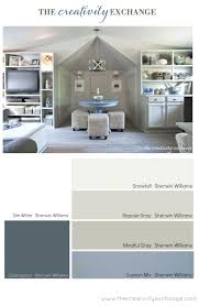 calming office colors. Paint Colors Used For Office Craft Room Revamp From The Creativity Calming Wall B