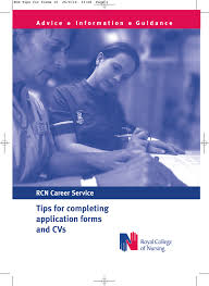 Tips For Completing Application Forms Tips For Completing Application Forms And Cvs Rcn Career Service