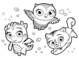Little charmers coloring pages photo 9