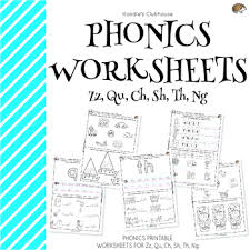 Here, you will find free phonics worksheets to assist in learning phonics rules for reading. Phonics Zz Qu Ch Sh Th Ng Worksheets By Koodlesch Tpt