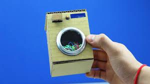 Miniature Washing Machine Diy Washing Machine Toy Mini Washer Youtube