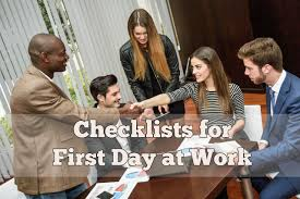 first day at work tips to avoid some common mistakes