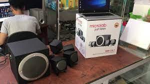 Test loa vi tính Microlab M900 - 4.1 - YouTube