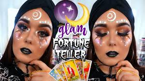 glam fortune teller makeup tutorial 2016 deanna borocz you