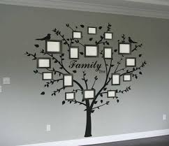 family photo tree wall decal wall decal sticker tree wall decals